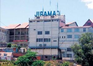 L'immeuble de la Jirama à Antananarivo.