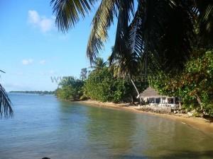 Une plage de Sainte-Marie avec Bungalow.