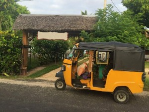 Un tuktuk de Sainte Marie