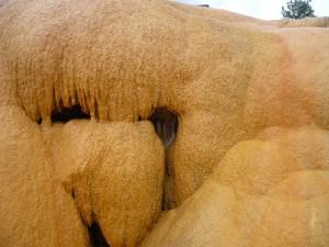 Le monstre d'Ampefy - Un rocher à la forme atypique