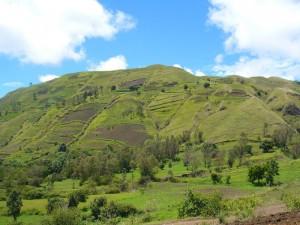 Une colline d'Ampefy, idéale pour la randonnée.
