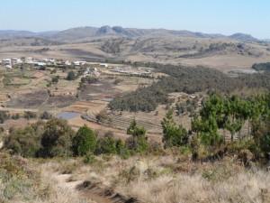 Antoetra, vue de loin