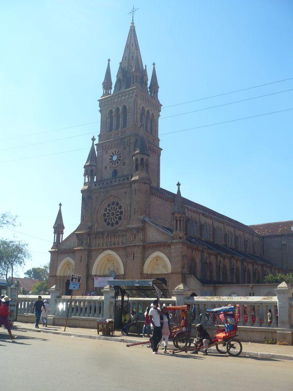La cathédrale d'Antsirabe