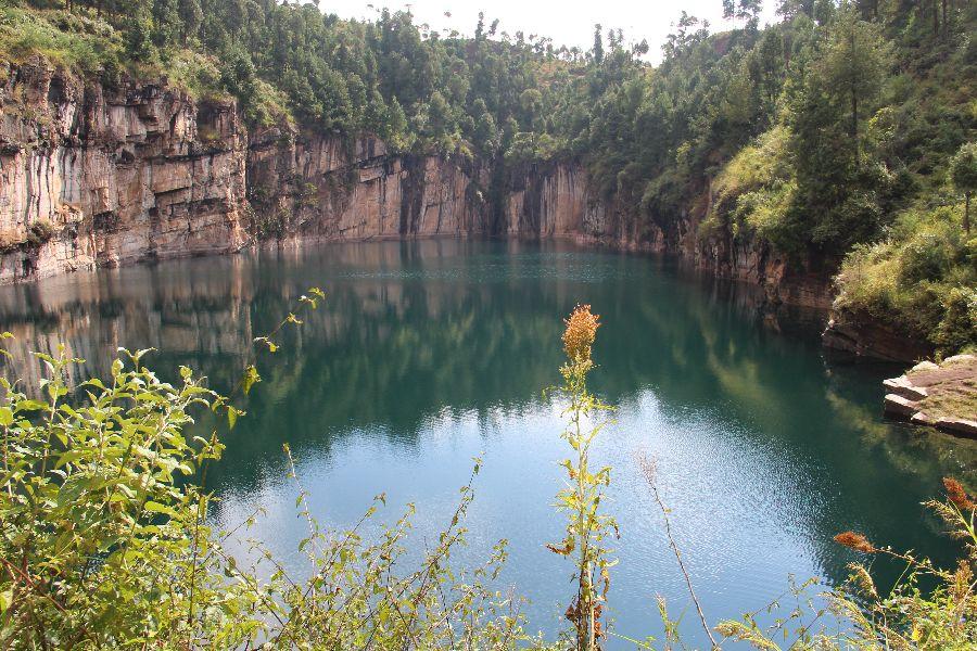 Le lac Tritriva, Antsirabe