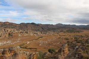 La route vers le canyon des Makis