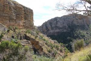 Le canyon des makis vu de haut
