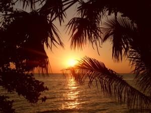 Coucher de Soleil à Ifaty, près de Tuléar
