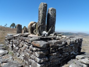 Un tombeau Zafimaniry