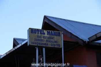 Un hôtel de Ranomafana