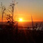 Coucher de soleil au mont Passot (2)