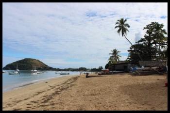 Autre point de vue sur la plage d'Ambatoloaka
