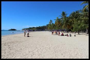 Quelques touristes à Andilana