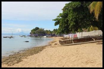 La plage de Nosy Komba