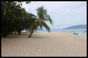 La plage de Nosy Tanikely