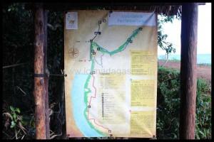 Plan du parc national de Lokobe