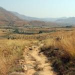 La descente vers Tsaranoro.