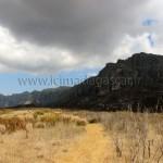 L'ombre sur le massif de l'Andringitra