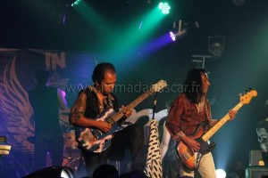 Les musiciens de Tana In Rock