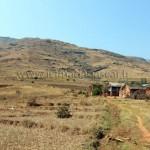La vallée du Tsaranoro, vue du fond