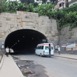 Le tunnel d'Ambanidia