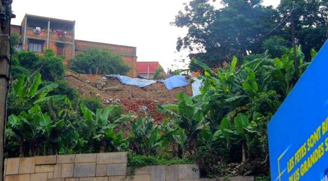 Effondrements à Antananarivo