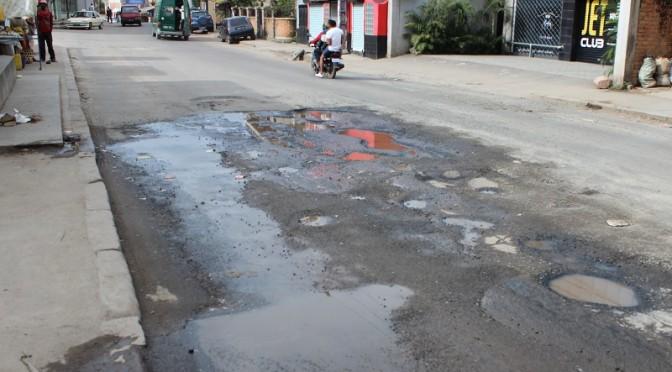 Dégradation des routes à Antananarivo