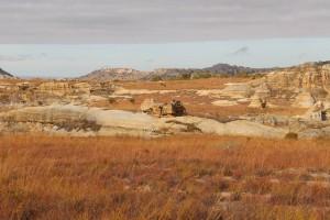 Un des paysages de l'Isalo