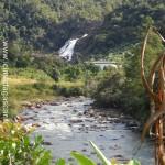 La cascade et sa rivière, à Ranomafana