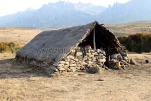 Le campement de base de l'Andringitra.