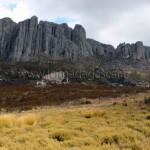 Un massif rocheux de l'Andringitra